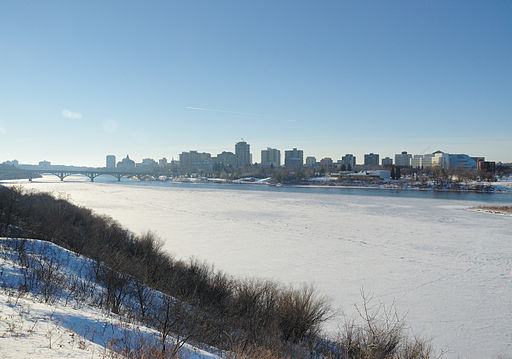 Saskatoon in Winter