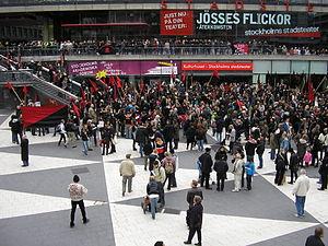 Concentración anarquista en Estocolmo