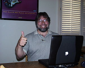 Steve Wozniak thumbs up