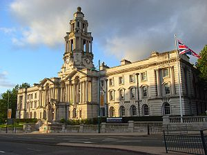 Stockport Town Hall, Stockport, Greater Manche...
