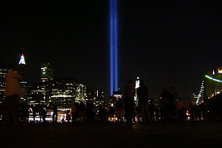 WTC memorial lights wikipedia