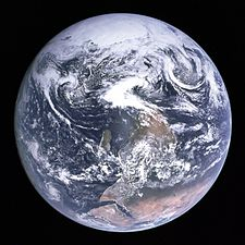 Blue Marble right way up