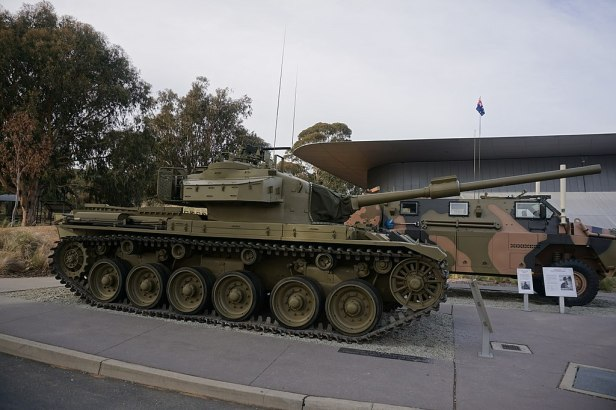 Australian War Memorial - Joy of Museums - Centurion Tank 2