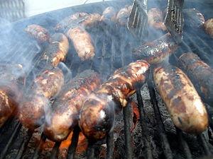 Bar-b-que-sausages