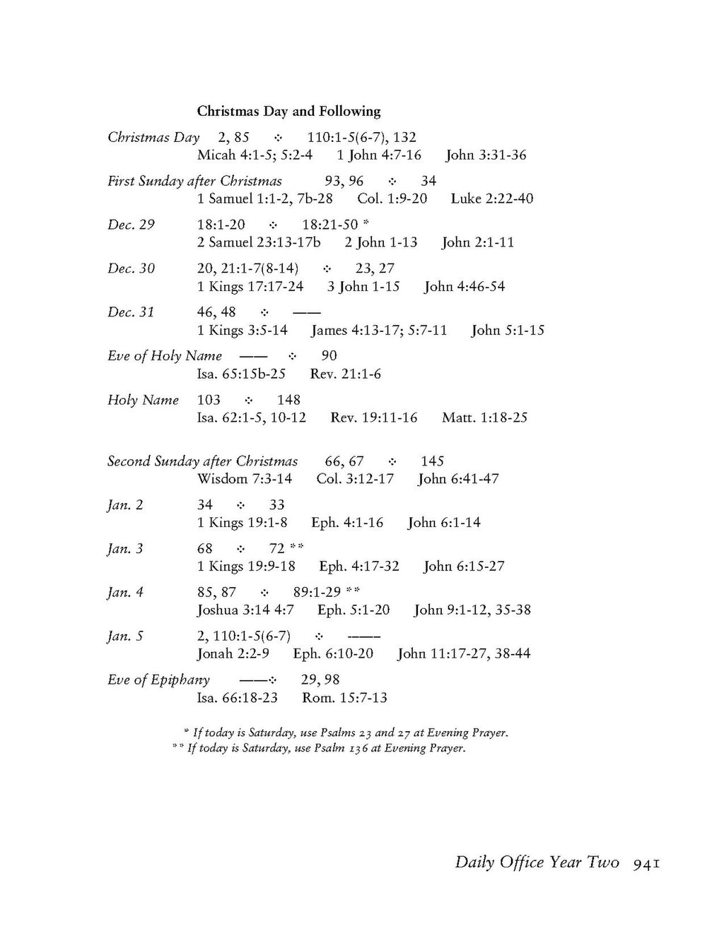 Page Book Of Common Prayer Tec 941