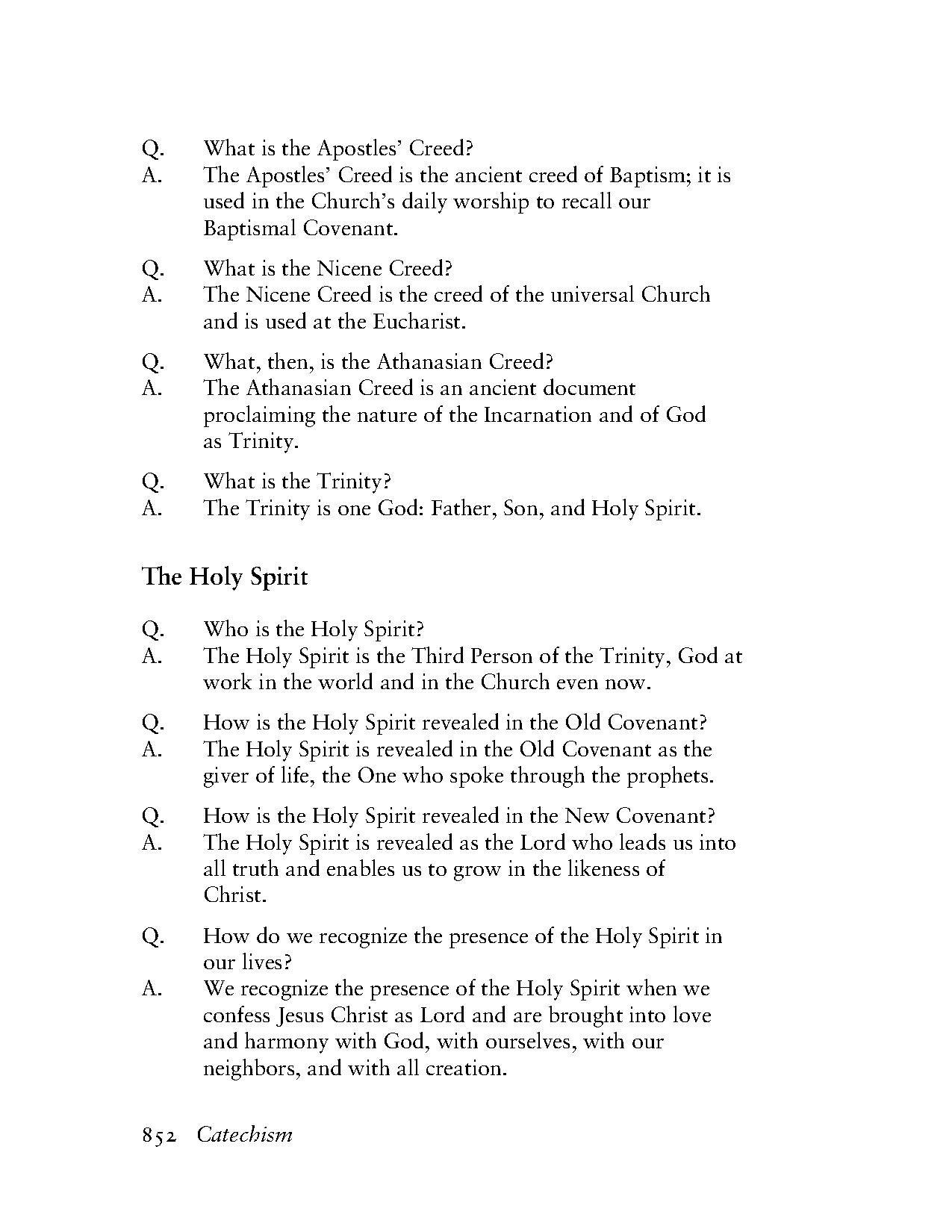 Page Book Of Common Prayer Tec 852