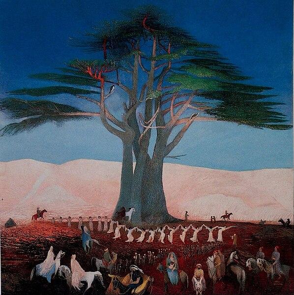 File:Csontváry Kosztka, Tivadar - Pilgrimage to the Cedars of Lebanon - Google Art Project.jpg