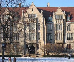 Eckhart Hall at the University of Chicago