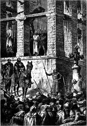 The Execution of Enguerrand de Marigny (1260-1...