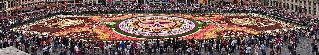 tapis de fleurs wikipedia