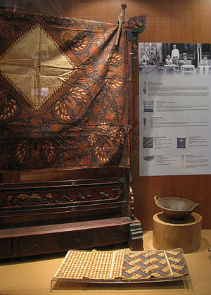 English: Batik Display at Indonesian National ...