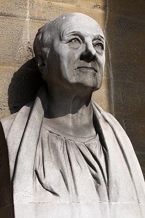 Bust of British architect John Nash (1752-1835...