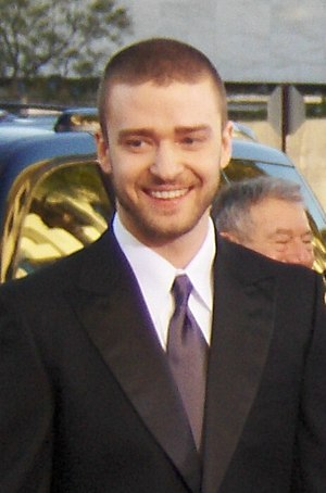 Justin Timberlake arriving at the 2007 Golden ...