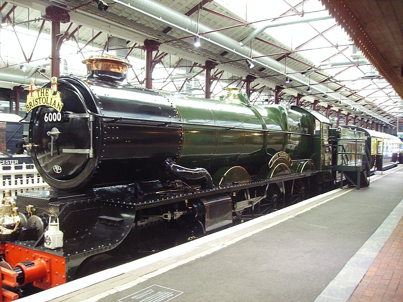 George V steam engine