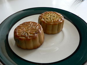 China traditional food--moon cake for Chinese ...