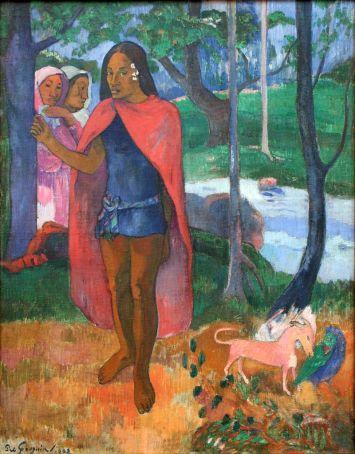 Le sorcier d'Hiva-Oa (Paul Gauguin)