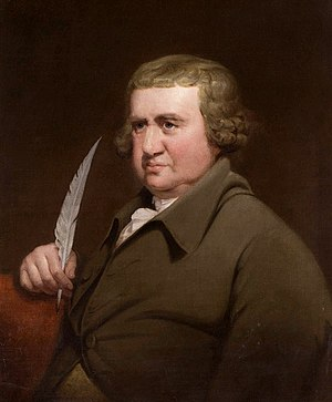 Erasmus Darwin in 1792 by Joseph Wright of Derby