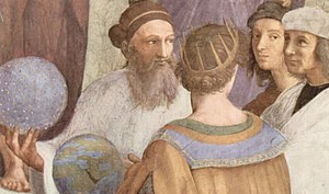 Detail of The School of Athens by Raphael, 150...