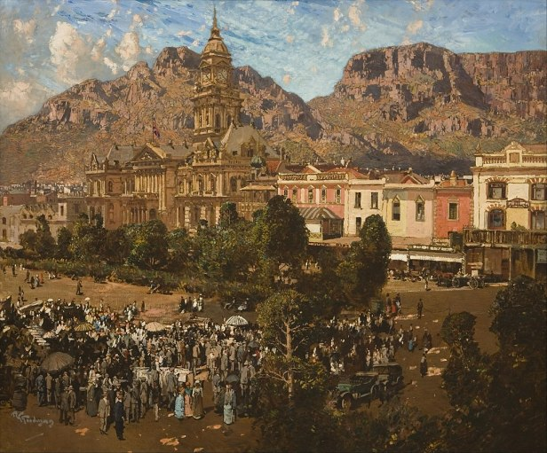 Robert Gwelo Goodman - City Hall, Cape Town 1917 - Google Art Project