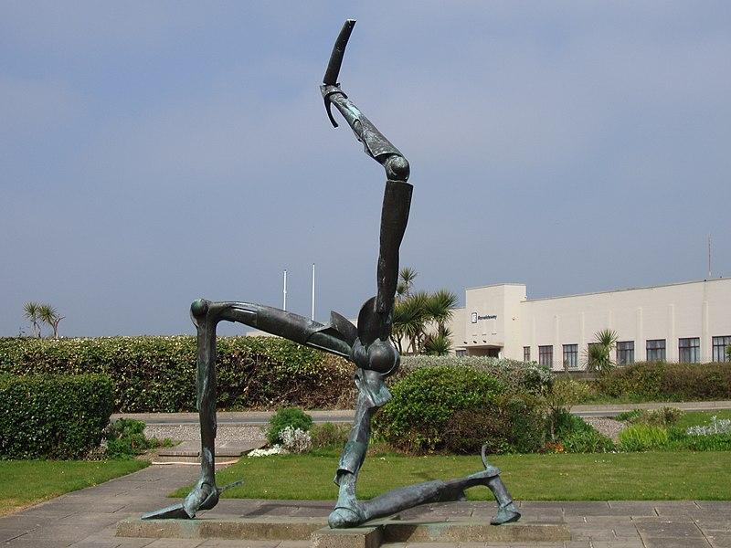 File:The Legs of Man - Isle of Man Triskelion - kingsley - 19-APR-09.jpg