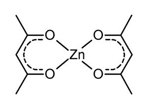 Zinc acac complex