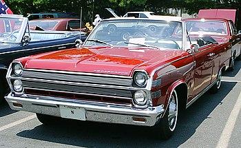 1966 AMC Ambassador 990 convertible. A full-si...