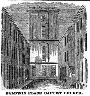 English: Baldwin Place Baptist Church, Boston