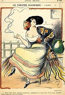 Carmen - illustration by Luc for Journal Amusant 1875.jpg