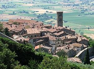 Cortona, Toscana, Italia