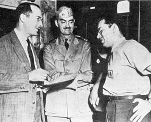 Robert Heinlein, L. Sprague de Camp, and Isaac...