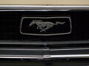 Kühlergrill mit Ford Mustang