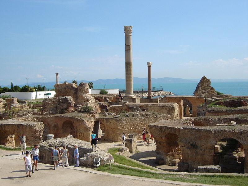 File:Karthago Antoninus-Pius-Thermen.JPG