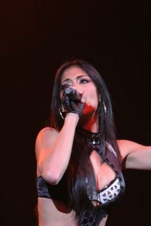 English: Nicole Scherzinger at the Tacoma Dome...