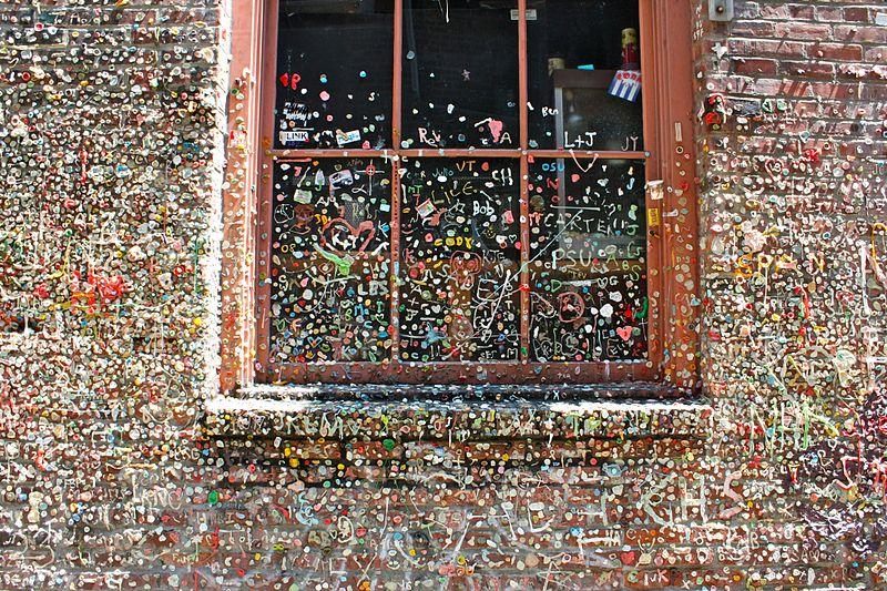 File:Seattle Gum Wall.jpg