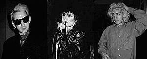 English: Siouxsie & the Banshees, left to righ...