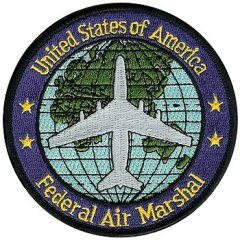 English: U.S. Federal Air Marshal Service patch.