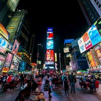 Travel: visit the Times Square, NY