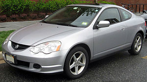 2002-2004 Acura RSX photographed in College Pa...