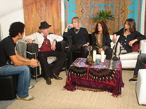 Interview with the MTV in April 2007