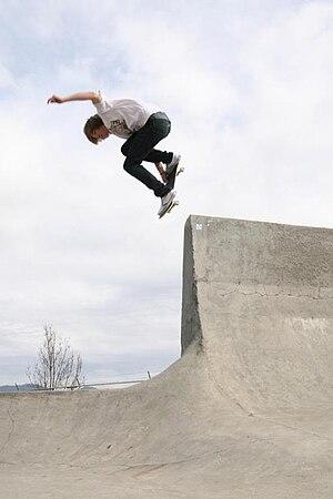 Skateboarder in Grants Pass, Oregon. Category:...