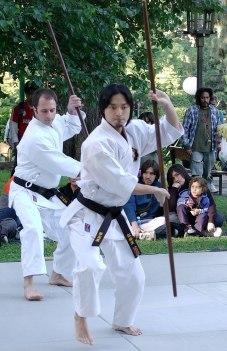 Популярные виды оружия в боевых искусствах. Палка шест Бо