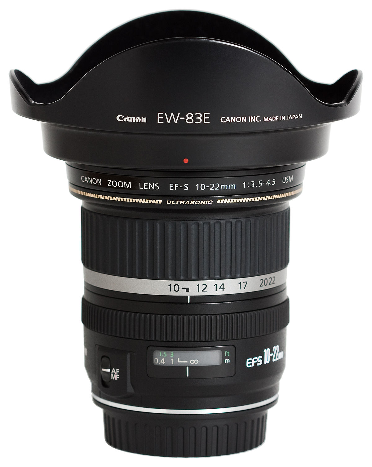 Lens 5 Zoom 4 5 Ultra Wide 3 Usm F Ef 10 Canon 22mm S