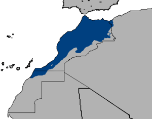 English: Extension of Moroccan Arabic (Darija).