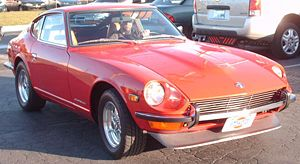 1970-1973 Datsun 240Z photographed in Montreal...