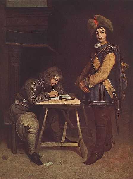 https://i2.wp.com/upload.wikimedia.org/wikipedia/commons/thumb/c/c0/Gerard_ter_Borch_%28II%29_-_Officer_Writing_a_Letter_-_WGA22151.jpg/448px-Gerard_ter_Borch_%28II%29_-_Officer_Writing_a_Letter_-_WGA22151.jpg