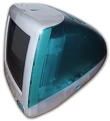 Bondi blue iMac, 1998