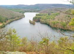 English: Lake Mcdonough reservoir as seen from...