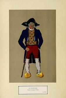 Le Languedoc - Fermier des environs de Privas - XIXe siècle (n° 123) - Fonds Ancely - B315556101 A GARDILANNE 025