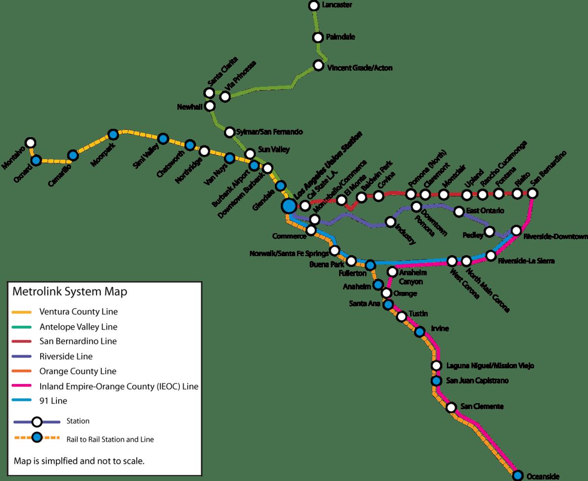 Metrolink California Wikipedia La Enciclopedia Libre