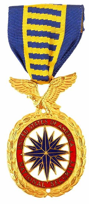 English: US National Security medal.